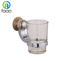 FAAO high quality Hotel bathroom double rack for cup