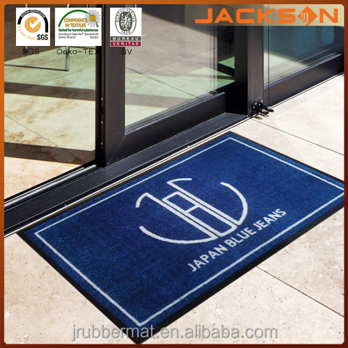 Waterproof Nylon Printed Commercial Floor Mat