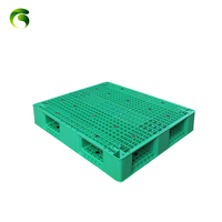 Factory cheap price single faced gridding strengthen plastic pallet