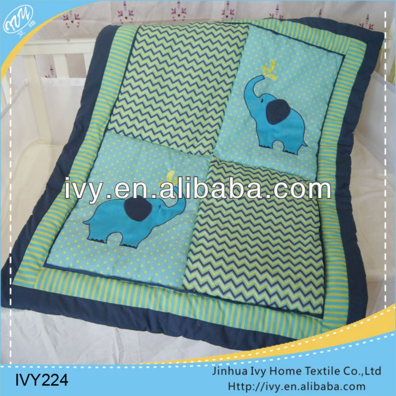 number por ciento algodon patchwork ropa de cama bebe pared edredn