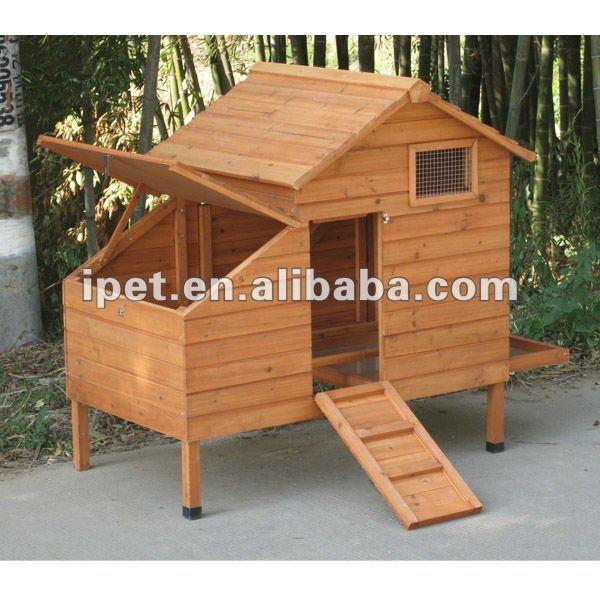 Gallinero de madera para las gallinas ponedoras cc012 jaulas transportadores y casas para - Casas para gallinas ...