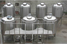 2000L beer processing line,turnkey project beer brewery plant