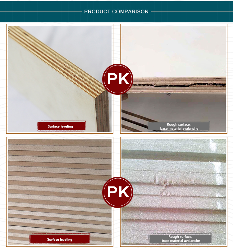 Synchronized 4x8ft melamine laminated chipboard sheet for furniture