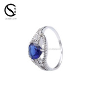 2-6773 Fashion 925 sterling silver unique wedding amazing engagement rings