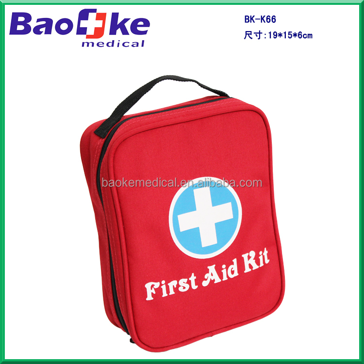 BK-K66 Cutomized First Aid Kit Medical Bag / Travel Survival Kit / Body Kit Baby Grooming First Aid Kit