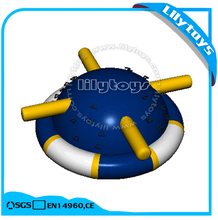 Aqua floating inflatable water rocking saturn, floating saturn rocker toys