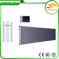 High Efficiency Pressurized Sus 201 Stainless Steel Domestic Solar Water Heater