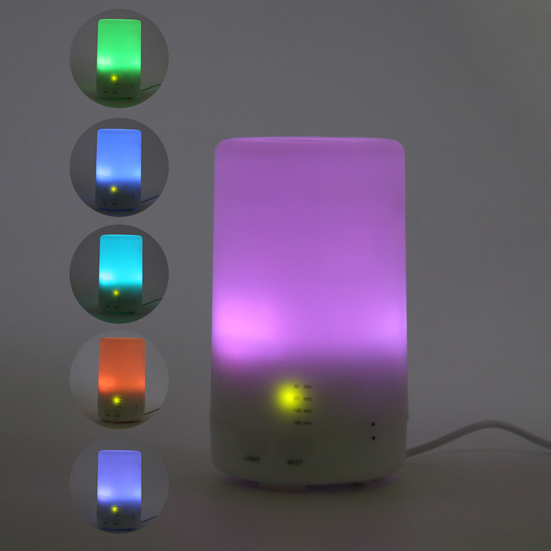 Hot Selling Ceramic Electric Clear Acrylic Light Diffuser With Timer