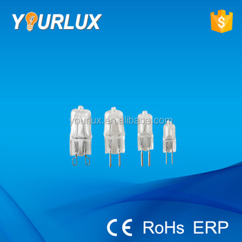g4 g5.3 g6.35 g9 halogen lamp bulbs