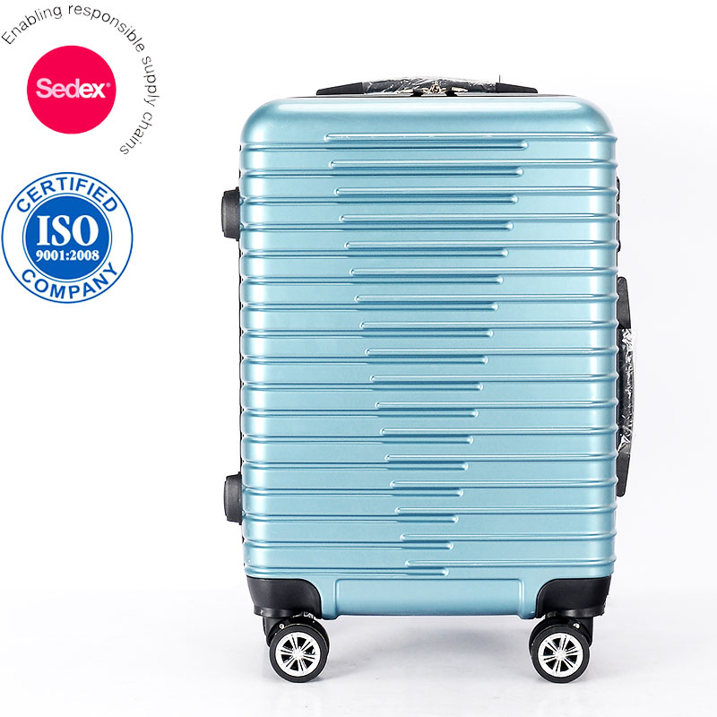 "Fancy International Traveler Hard Side ABS and PC Luggage Bags Standard Suitcase Size 20"" 24"" 28"" for Select"