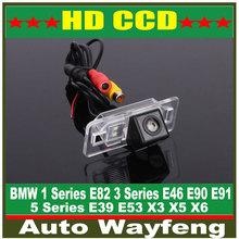 Car Rearview Camera for BMW 1 Series E82 3 Series E46 E90 E91 5 Series E39 E53 X3 X5 X6 Auto Backup Reverse Park kit NightVision