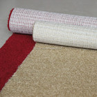 Cut pile comfortable wall to wall carpet in rolls