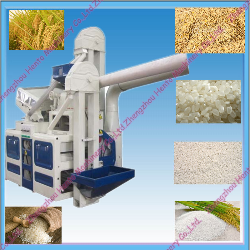 Hot sale Rice Mill Machine Price / Price of Rice Mill Machine with Stone Remover