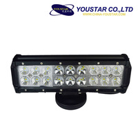 offroad led light bar for ATV 4x4 truck, One row 54w led auto bar