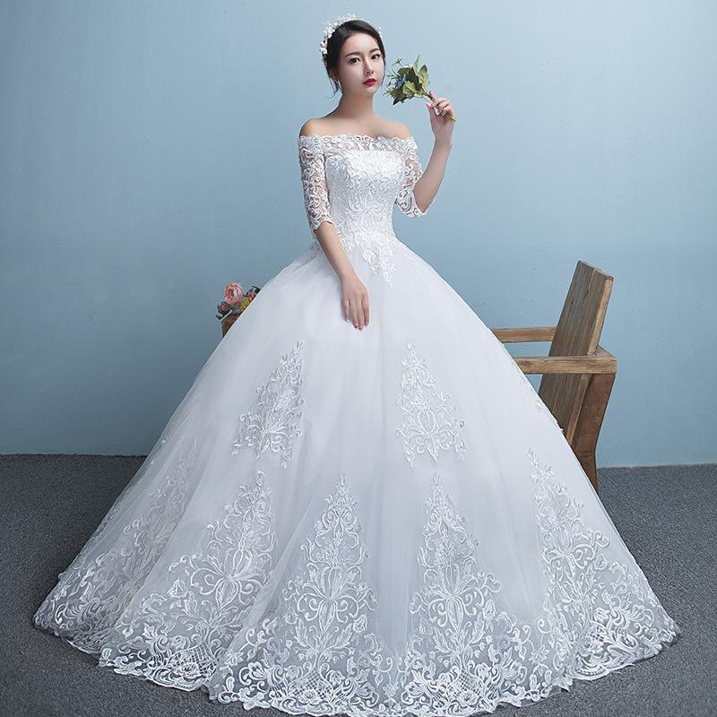 Wvx18 Hot Princess Wedding Dress 2018 Fashionable Cheap Wedding