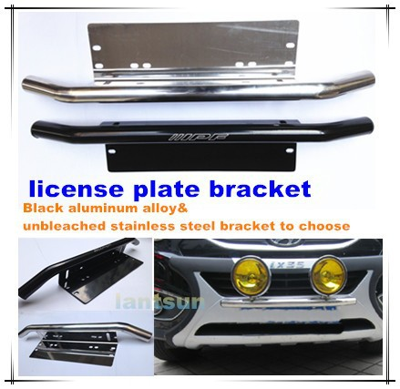 Led Light Bars Mount Bracket Car License Plate Bracket For Fog ...