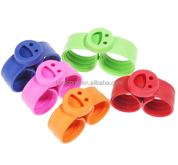 Factory Cheap Price Smile Silicone mosquito repellent bracelet