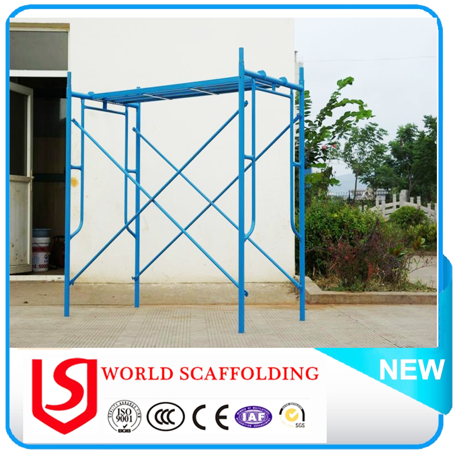 World brand Cheap construction used scaffolding system/ arch frame scaffolding/Snap Frame