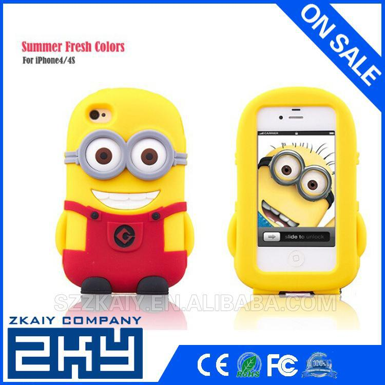 Cute for iphone 5s case silicone rubber case for iphone5