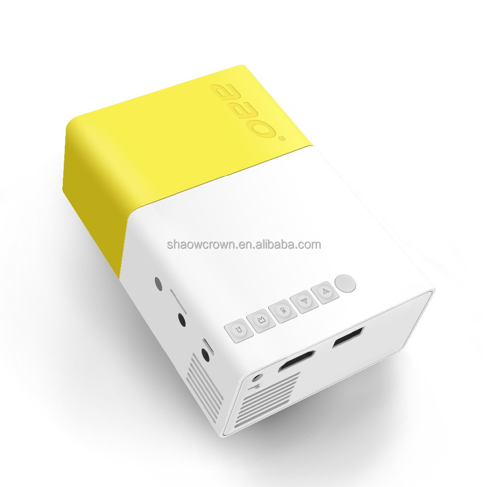 cheap mini projector use with pocket size built-in Battery for long time easy to connect mobiles