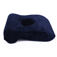 Soft Office Travel Rest Nap Memory Foam Desk Pillow Cushion with Hole Design