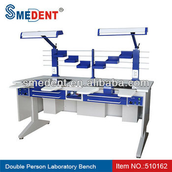 Dental Lab Work Bench For Double Person Use Buy Dental