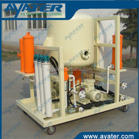 AYATER supply hydraulic oil transfer pump with filter ZLYC carts