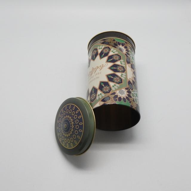 Packaging personalizzato rotante musica carosello scatola di latta con cute coperchio