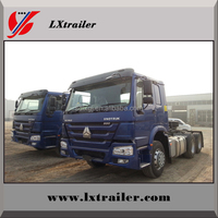 China HOWO 6x4 EURO II Emission Standard 10 Wheels Tractor Truck