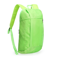 Wholesale custom logo mini travel schoolbag children pure color school backpack