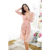 HSZ X8017 Hot Selling Summer Transparent Women Lingerie Sleepwear Sexy Soft Pajamas Suit Nightdress with Tulle for Female Adult