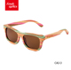 CA-3 Cheap price polarized wood sunglasses woman