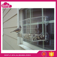 Best Selling Acrylic Decorative Bird Cages, Pet Bird Automatic Water Feeders
