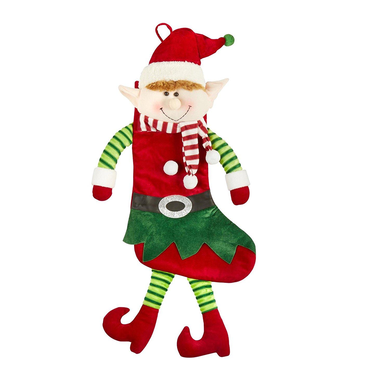 Cheap Velvet Elf Christmas Stockings With Bell, find Velvet Elf ...