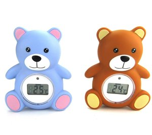 Baby bath bear shape water temperature thermometer, floating bathtub water thermometer