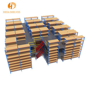 Professional custom design warehouse storage van shelving racking with board