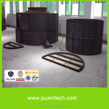 soft biogas with septic tank for slaughterhouse water treatment plant