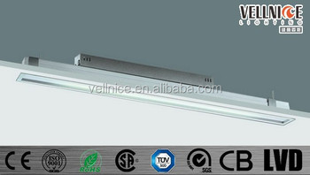 Plafoniera Con Reattore Elettronico : T5 tubo lampade fluorescenti con reattore elettronico ufficio anello