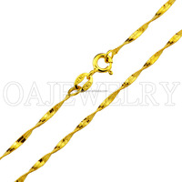 lordliness styles gold plated 915 sterling silver wedding chain