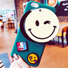 Korea 3D Cartoon Smile Face Soft Silicon Phone Cases Cover For Iphone 6