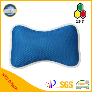 hot sell & free sample polyester mesh bath pillow