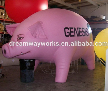 pink floyd flying pig pig balloons for