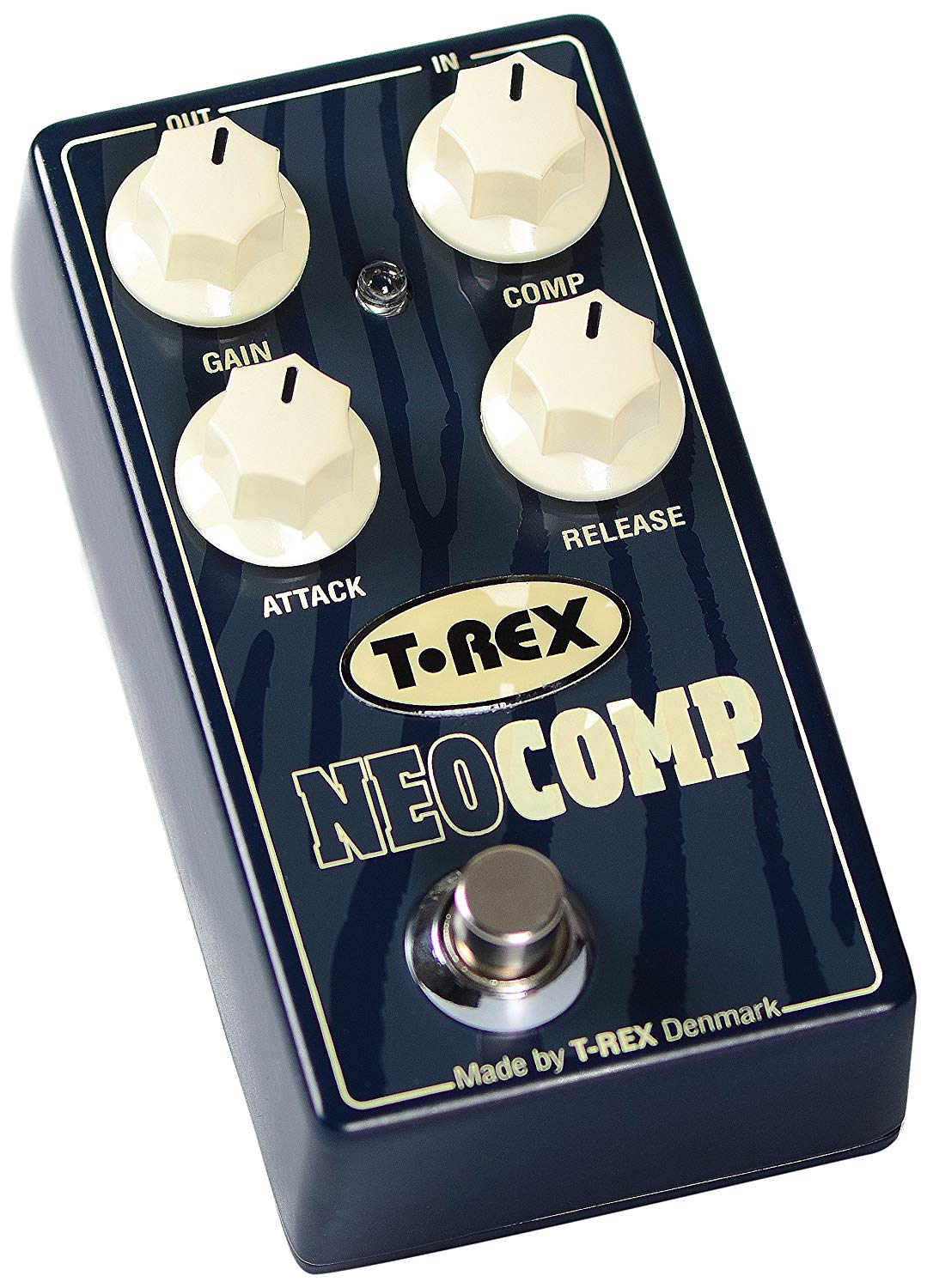 T-Rex Engineering NEOCOMP Compressor Guitar Effects Pedal with Premium, Studio-Grade Compression; Includes Gain, Comp, Attack, and Release Controls (10096)