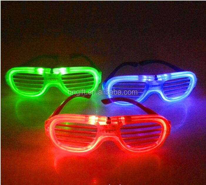Flsorescence Glow In The Dark Party Led Glasses Flashing For Party