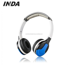 Dual Channel IR Wireless Headphone Kecil Dan IR Transmitter