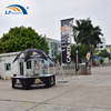 3X3M hexagonal dome booth kiosk tent for advertising display