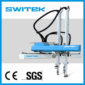 Servo motor industrial robot price for injection molding for Industrial servo motor price