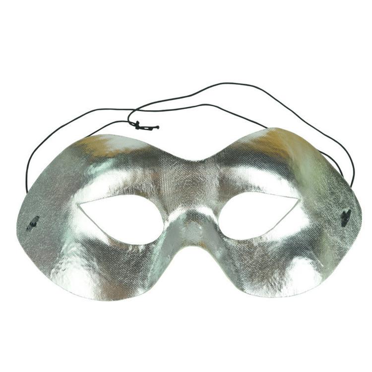 PoeticExst Zorro maschera PVC assortiti colori mezza faccia occhio bandit maschera