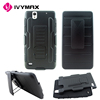 IVYMAX new celluar cases under 1 dollar holster combo case for sony C4