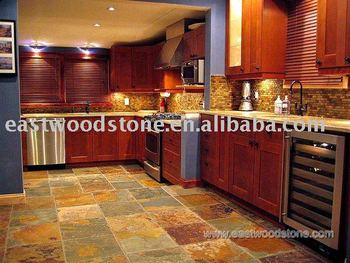 Natural Slate Kitchen Flooring Tile